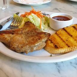 สเต๊กไก่พริกไทยดำ