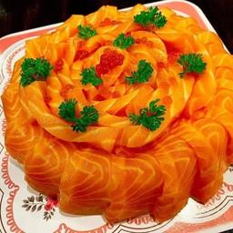 เค้กแซลมอนมีไส้ 500 กรัม