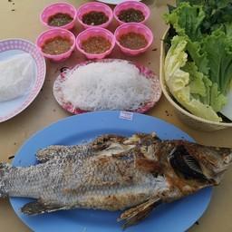 ปลากะพงเผา (ชุดละ)