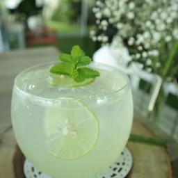 Honey Lime Soda