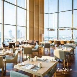 Skyline Restaurant Avani+ Riverside Bangkok Hotel
