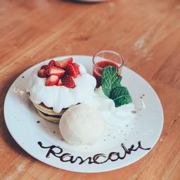 Pancake Strawberry