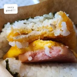 Pork Tamago Onigiri Honten Makishi Public Market