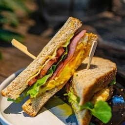 Ham Egg Cheese Sandwich