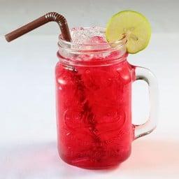 น้ำแดงโซดามะนาว