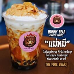 ชาไข่มุก หมีพ่นไฟ The Fire Bear (ตลาดหน้า บิ๊กซี รัชดา) หมีพ่นไฟ บิ๊กซี รัชดา