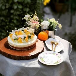 เค้กยูสุ Poppy Seed ท็อปด้วยชีสเค้กลิ้นจี่ หอมอบอวล 11 - 15 มีนาคม 2563