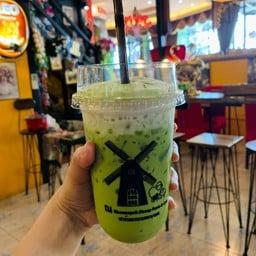 ชาเขียวเย็นวานน้อย