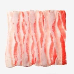 เนื้อหมูสามชั้น (ติดมัน)