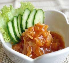 Hotate Kimchai - ครีปหอยเชลล์ปรุงรสกิมจิ