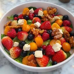 ผลไม้สดใหม่ มีความเปรี้ยวนิดๆจาก strawberry และ gooseberry  พร้อม walnut และ oli