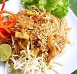 ผัดไทยมังสะวิรัติ