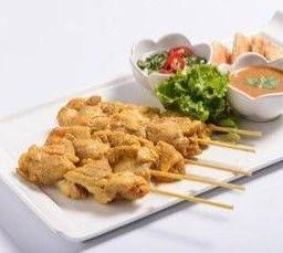 ไก่ หมู เนื้อสะเต๊ะ Grilled Sate