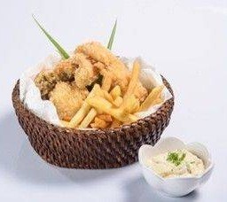 ฟิชแอนด์ชิพ Fish & Chips