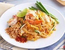 ผัดไทยทะเล