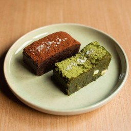 A F**cking Good Brownie + Matcha Brownie Delivery