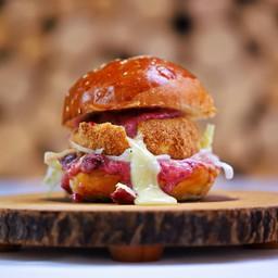 The Cheesy Camembert Burger