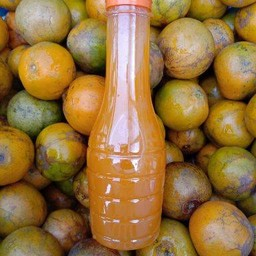 เฮงเฮง น้ำส้มคั้นสด100%