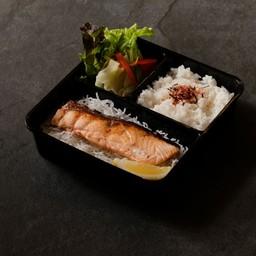 Salmon Shio Bento