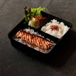 Salmon Teri Bento