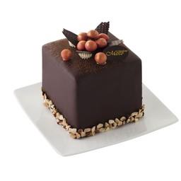 คิวบ์คาโรล่าเค้ก รสช็อกโกแลต 4*4 นิ้ว