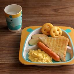 อาหารเช้า เด็ก