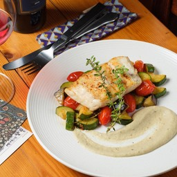 Sea Bass with Provencal Vegetable