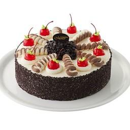 เค้กแบล็คฟอเรสต์ แบบที่1 6 นิ้ว ( 1 ปอนด์ )