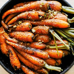 Roasted Carrots with Dukkah Delivery (Vegan) แครอทย่าง