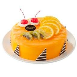 เค้กสมูทตี้ออเรนท์ฟัดจ์ 6นิ้ว ( 1 ปอนด์ )