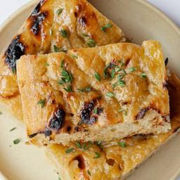 Grilled Focaccia Delivery ขนมปังฟอคคาเซีย