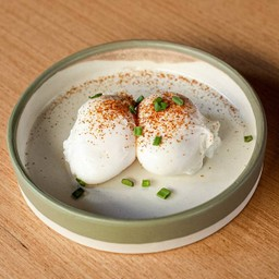 Two Eggs Poached Delivery