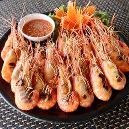 Grilled River Prawn 1 kg.