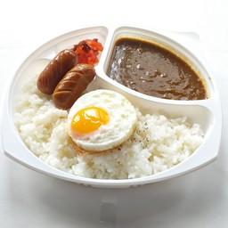 Sausage Curry Bento