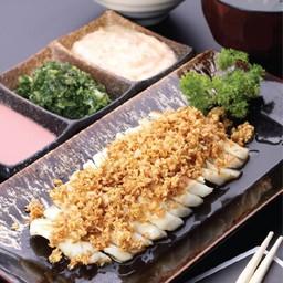 สเต็กปลาหมึก (Cuttlefish Steak)