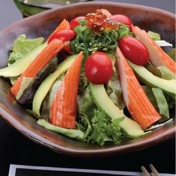 สลัดปูอัดอโวคาโด (Kani Salad)
