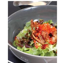 สลัดปูนิ่ม (Softshell Crab Salad)