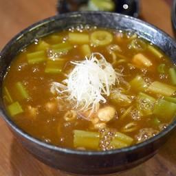 โซบะร้อนแกงกระหรี่ญี่ปุ่น