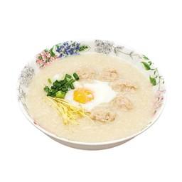 โจ๊กหมู + ไข่ไก่