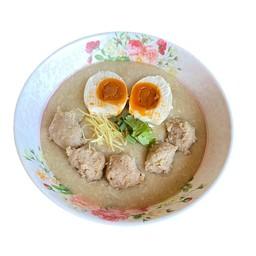 โจ๊กหมู + ไข่เค็ม