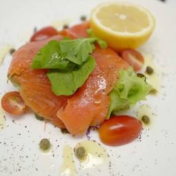 3. Carpaccio di Salmon