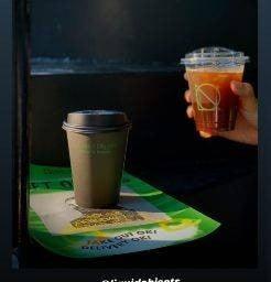 Liquid Objects (Coffee&Bagels)