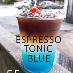 Espresso Tonic Blue Curacao