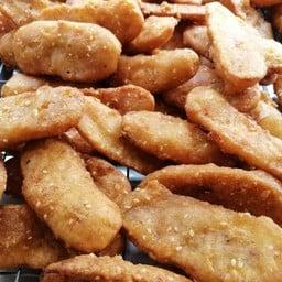 กล้วยทอดอัมพวา ซอยโรงพยาบาลเปาโล