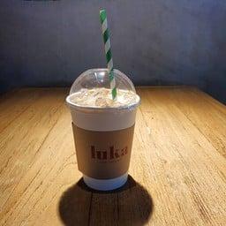 Salted Caramel Latte (Ice)
