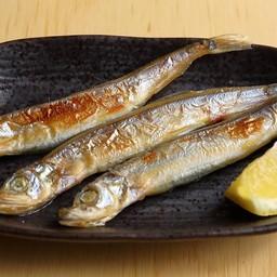 ปลาไข่ชิชะโมะย่าง 3 ตัว