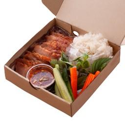 grilled set ชุดคอหมูย่าง