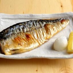 ปลาซาบะย่างเกลือ