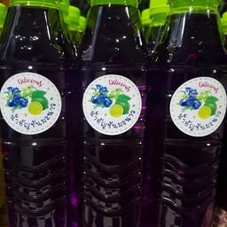 น้ำอัญชันน้ำผึ้งมะนาว