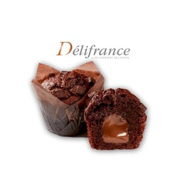 ช็อคโกแลตเฮเซลนัท มัฟฟิน (มีใส้)